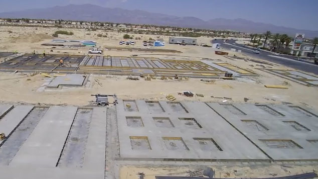 Dignity Health's future site of its micro-hospital in North Las Vegas at Craig Road and Martin Luther King Boulevard. (Courtesy)