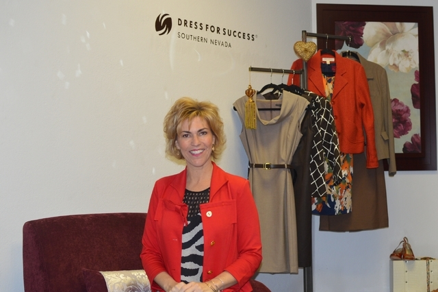 Paula Lawrence, executive director of Dress for Success, is looking forward to Nevada's Big Give March 10. (Stephanie Annis, special to the Las Vegas Business Press)