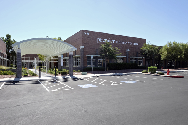 Premier Business Center recently purchased the Brandywine Executive Center in the Augusta Park Complex at 1489 W. Warm Springs Road in Henderson. Ulf Buchholz/Las Vegas Business Press