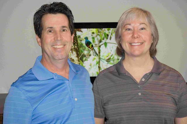 Jeff Saffer and Vicki Burnett are the driving forces behind Quetzal, a program that helps make biomedical research searchable. Craig A. Ruark, special to the Las Vegas Business Press