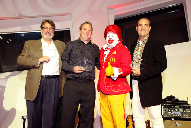"COURTESY Bret Loughridge, vice president of operations at SR Construction was honored with the House Hero award at the 18th Annual ""Rock the House"" Gala hosted by the Ronald McDonald House Cha ..."