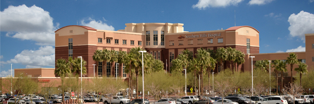 Southern Hills Hospital campus at Sunset Road and Forte Apache Road. (Courtesy Photo)