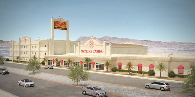 Rendering of the Skyline Casino's hotel project scheduled to be completed near the end of 2016. (Courtesy)