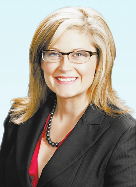 Stacy Scheer, senior associate with Colliers' Healthcare Properties Group. (Courtesy art)