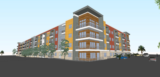 Fore Property Co. new 295-unit multifamily project at Spring Mountain and Valley View.