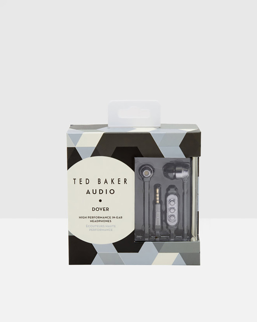 High-performance Dover in-ear headphones, $99.95; available at Ted Baker London in The Forum Shops at Caesars