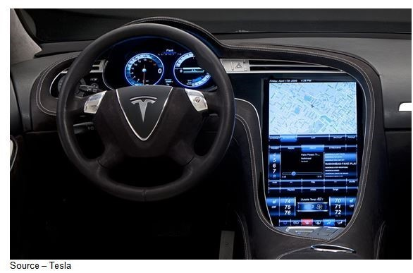 Designed from the inside out and top down, the Tesla Model S has a comprehensive infotainment system that will make any tech whiz want to stay in his/her car for days.  The vehicle's brain monit ...