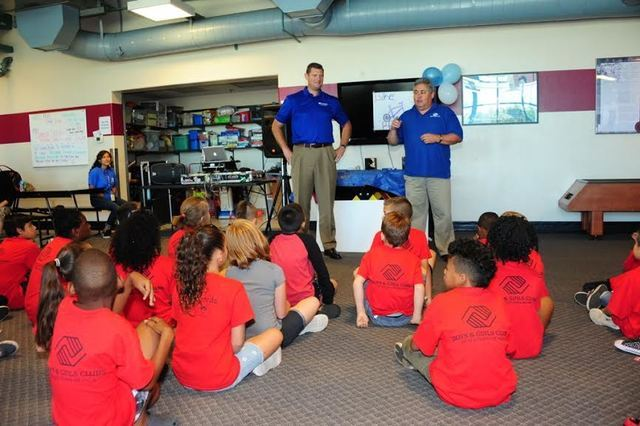 Mary and Sam Boyd Clubhouse received a $16,500 Triple Play grant from Amerigroup Foundation, providing much-needed updates in equipment and supplies for the club's game room, where kids and teen ...