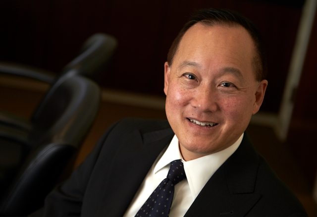 Tim Wong, president and CEO of Arcata, is taking the family business to a higher orbit. (R. Marsh Starks / UNLV Photo Services)