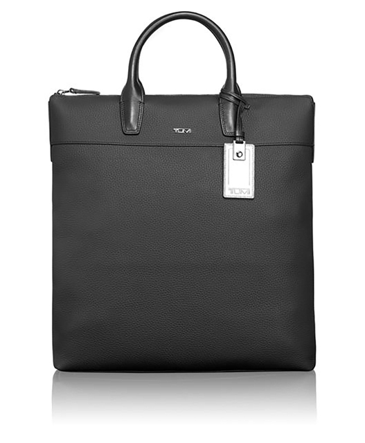 Whitman tote from Landon Collection, Tumi, $1,500; available from tumi.com