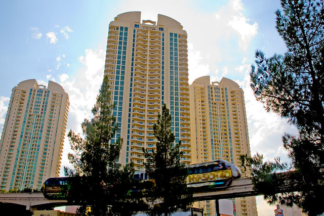 Turnberry/MGM Grand Towers LLC, developer of three high-rise condominium towers, has filed for bankruptcy seeking relief from creditors. (File photo)