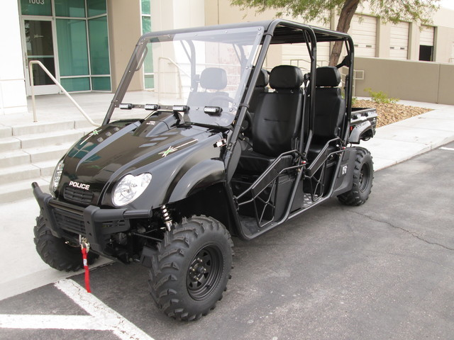 Xtreme Green Vehicle's 5-seat UTV. (Courtesy
