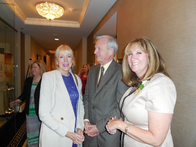 The Las Vegas Business Press honored 15 Women Who Mean Business May 21 at the Trump Plaza. One of those honored is Dr. Renee Coffman, right, president and co-founder of Roseman University, who is  ...