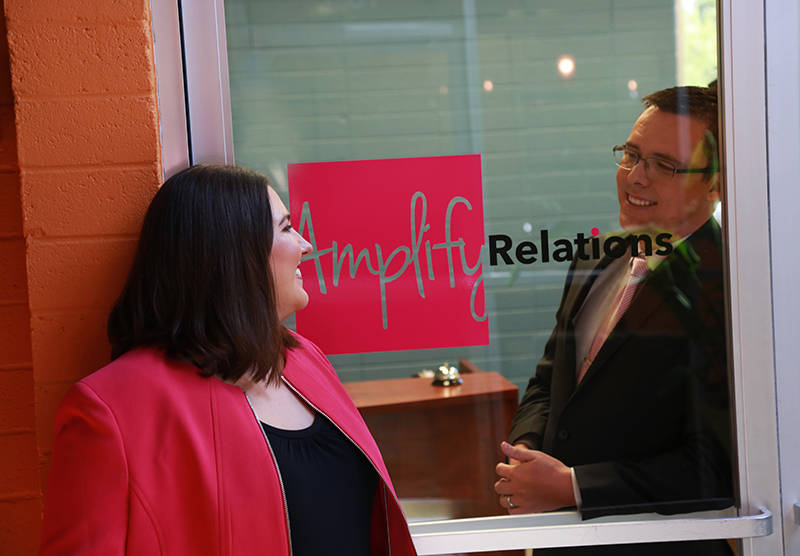 Bryan and Megan Bedera, owners, Amplify Relations, Young Entrepreneur of the Year