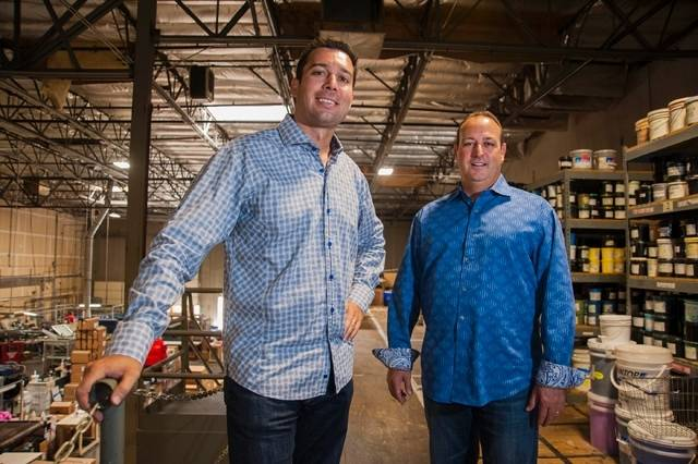 Sean Ono and Mario Stadtlander founded Eagle Promotions and Eagle Design Group in 2001 by entrepreneurs Sean Ono and Mario Stadtlander. (Courtesy)