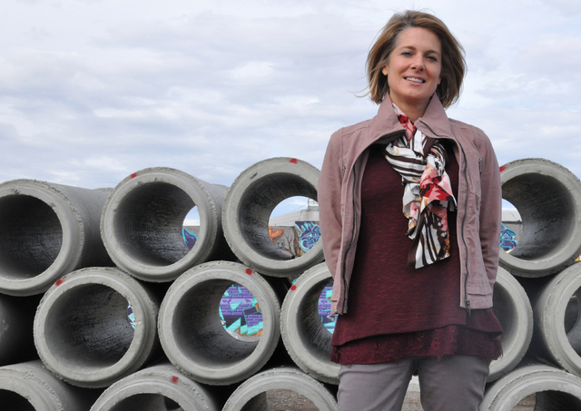 Buford Davis / Las Vegas Business Press General Manager Tina Quigley joined the Regional Transportation Commission.