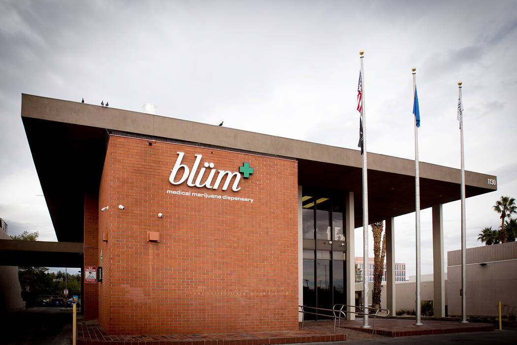 Blum in Clark County, a medical marijuana dispensary, is in the central valley.