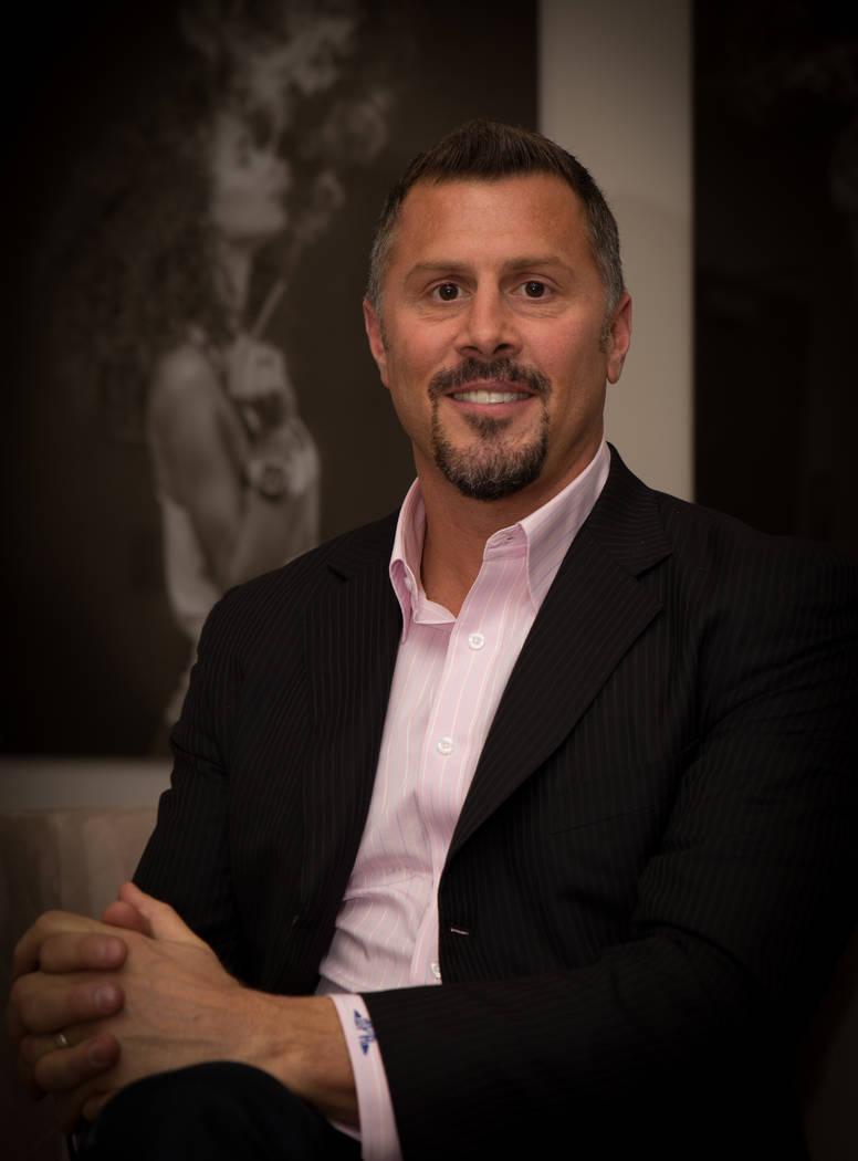 Derek Peterson, CEO of Terra Tech,  which operates Blum in Clark County,  a medical marijuana dispensary