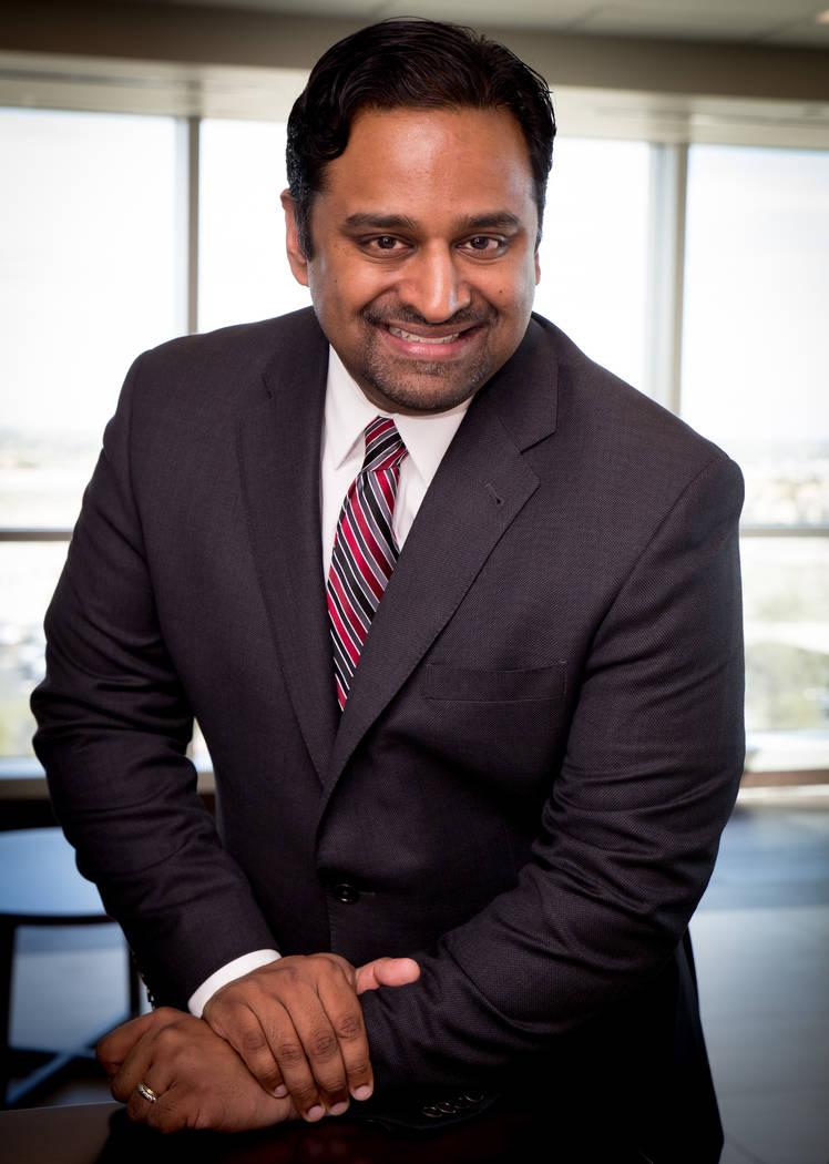 "Tonya Harvey Las Vegas Business Press ""As Las Vegas has grown, the needs of the community have grown,"" said Sajit Pullarkat, Centennial Hills Hospital Medical Center CEO."
