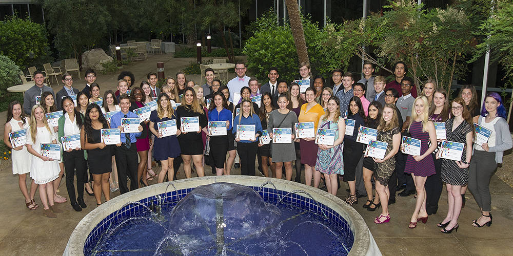 The NV Energy Foundation has awarded $94,000 in scholarships to Southern Nevada high school seniors representing 47 high schools. (Courtesy)