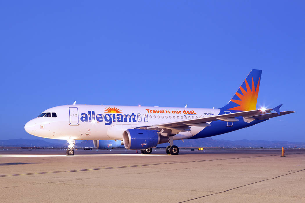 Courtesy A process of streamlining Allegiant's fleet is underway, phasing out B757 and MD80 aircraft in favor of newer Airbus A319 (pictured here) and A320s.