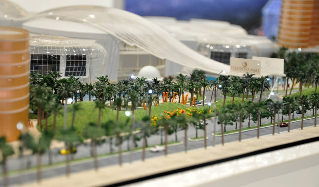 Design International featured a scale model of Cairo's Cleopatra Mall, now under construction, at RECon 2017 in the Las Vegas Convention Center and Westgate Hotel May 21-24.The annual event is the ...