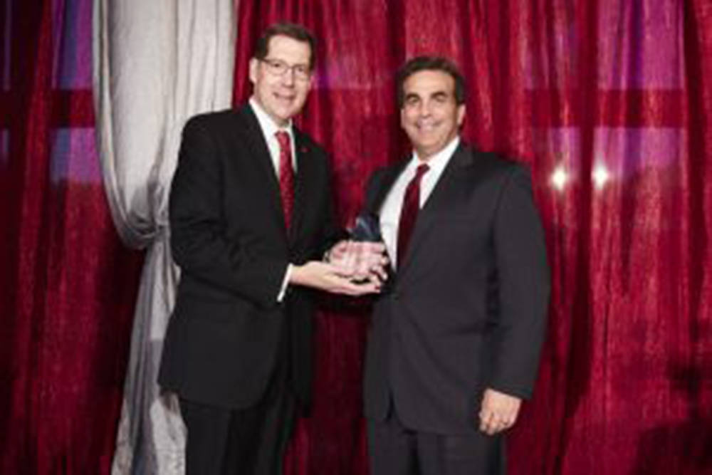 Bank of Nevada CEO John Guedry received the 2017 Lee Business School Alumnus of the Year Award. The University of Nevada, Las Vegas Alumni Association presented the award to graduates for their ou ...