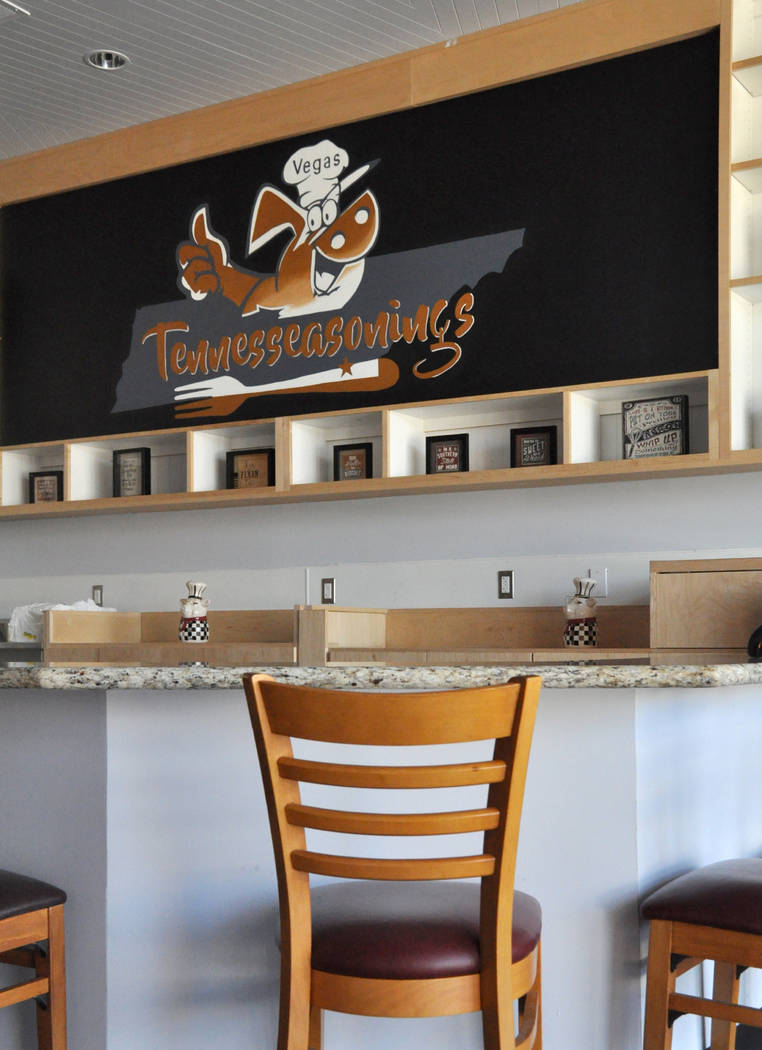 Laura and Michael Harris offer East Tennessee-style barbecue at their new restaurant, Tennesseasonings, 7315 W. Warm Springs Road. Photo by Buford Davis / Las Vegas Business Press