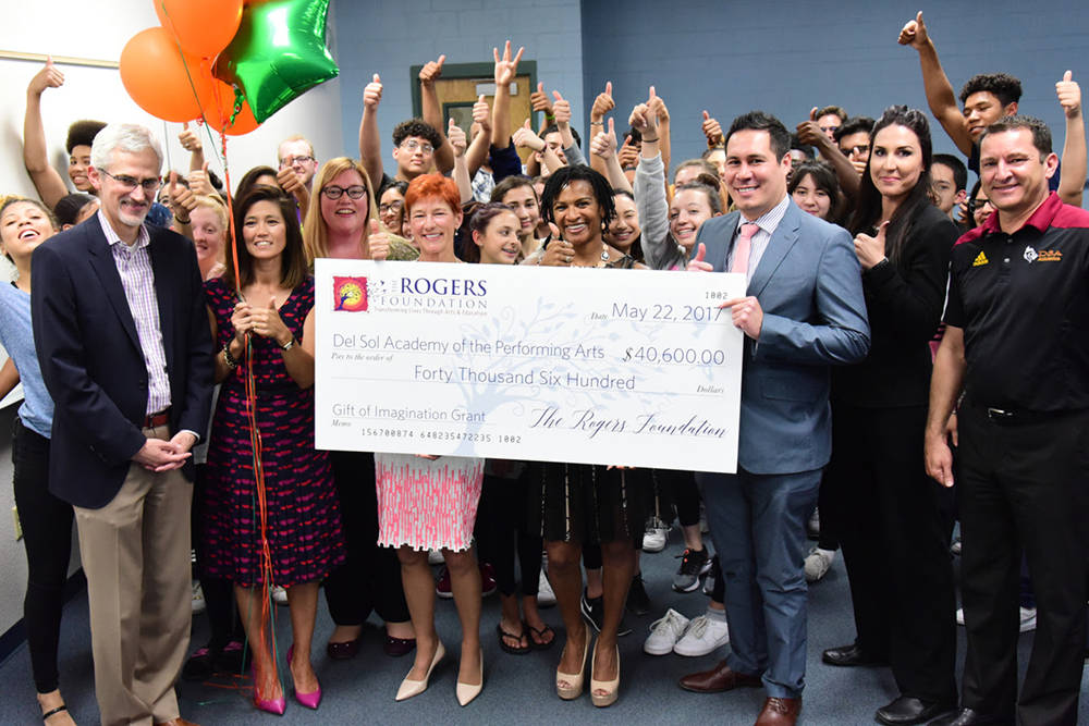 The Rogers Foundation awarded Del Sol Academy of the Performing Arts $40,600 in grants. (Courtesy)