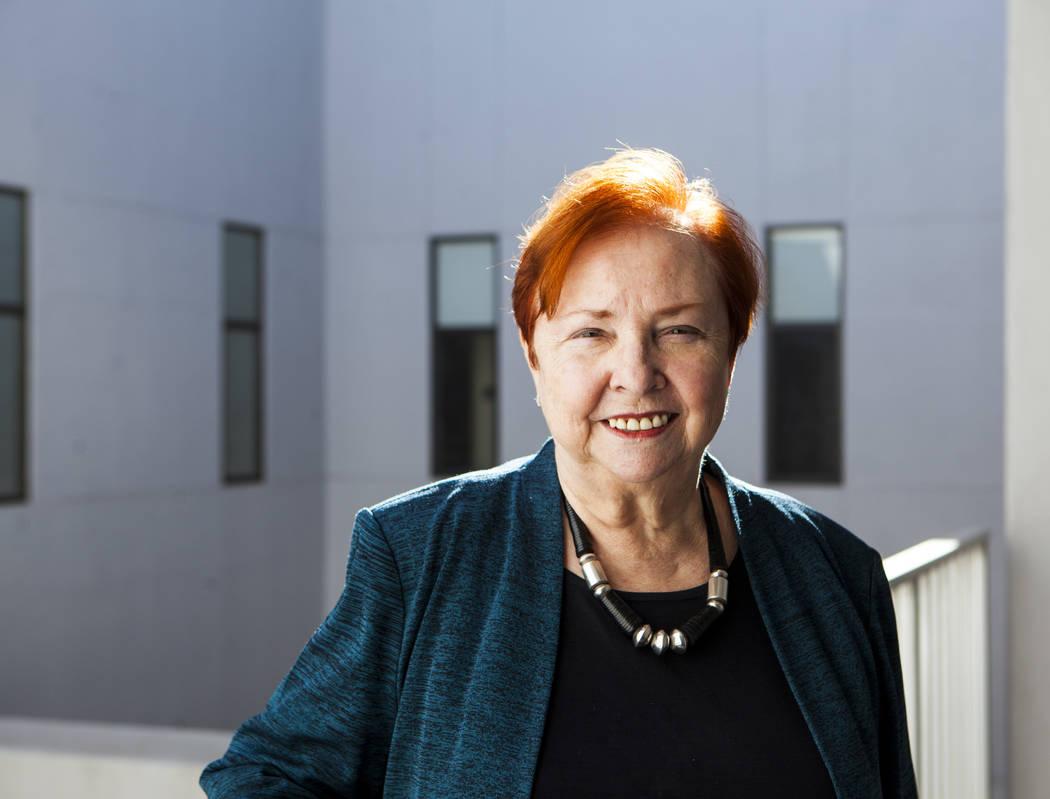 Dr. Barbara Atkinson, dean of the UNLV School of Medicine. (Miranda Alam/Las Vegas Business Press)