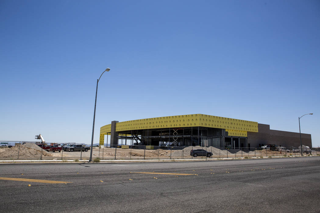 The construction site of the new Findlay Subaru near Rainbow Boulevard and 215 West on Monday, June 5, 2017. Patrick Connolly Las Vegas Review-Journal @PConnPie