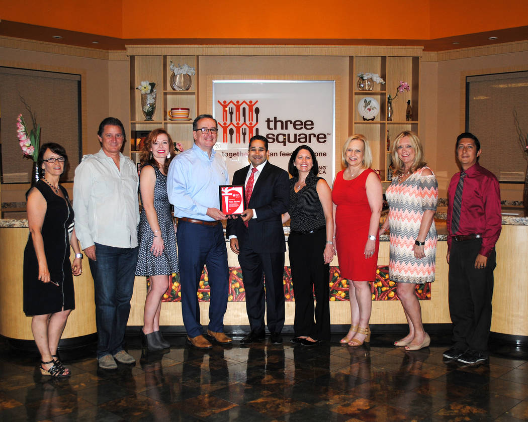 The American Heart Association Las Vegas Division recently recognized Three Square Food Bank for its commitment to building a healthier environment for their employees and clients by adopting guid ...
