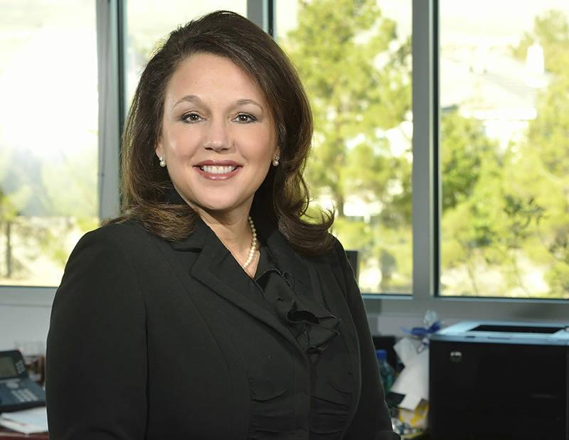 Karla Perez, vice president at Universal Health Services. (Bill Hughes/Las Vegas Review-Journal)