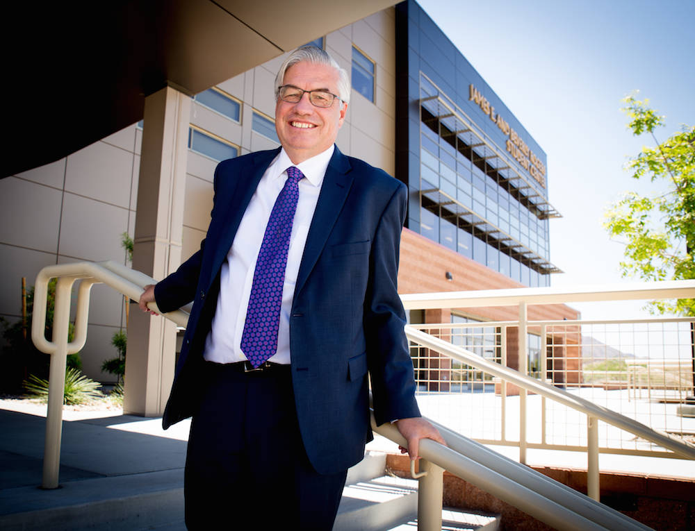 Nevada State College President Bart Patterson