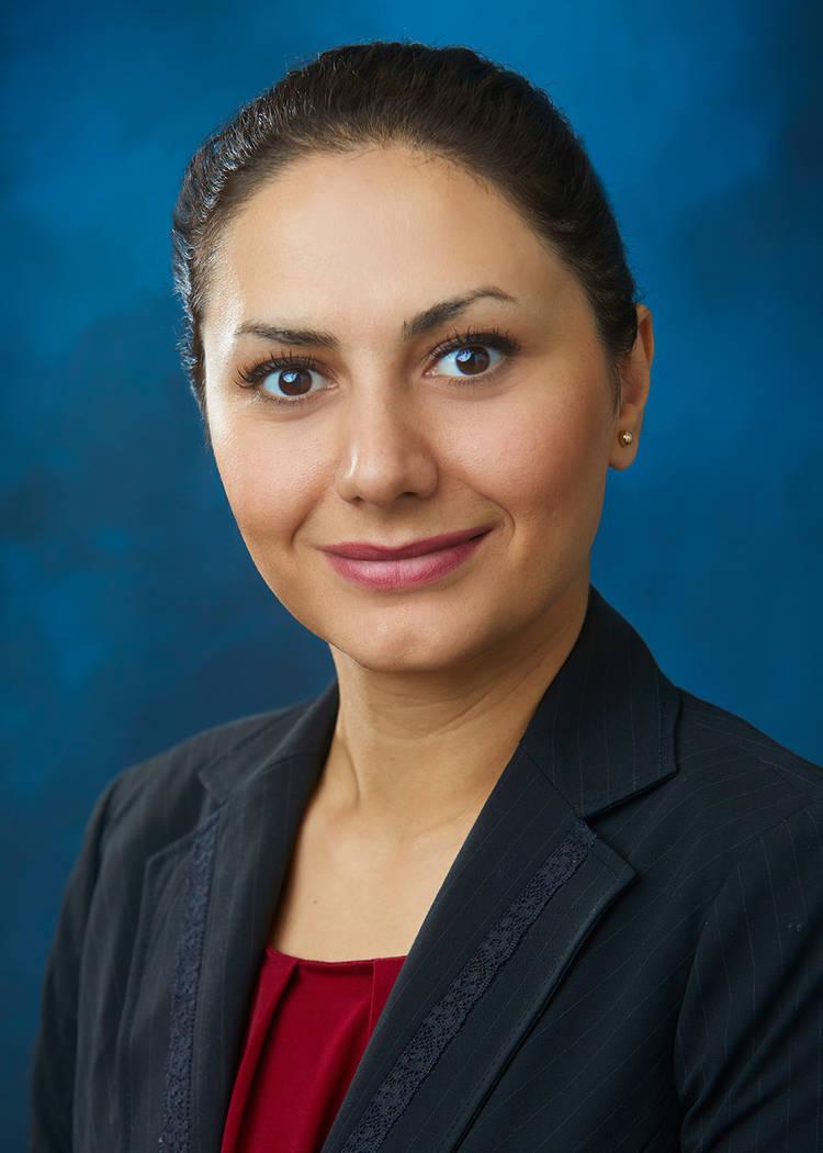 Jasmine Badrzadeh, staff professional, GES Las Vegas office.