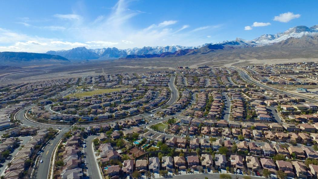 National real estate consultant RCLCO ranked Summerlin No. 7 on a list of the country's best-selling master-planned communities.