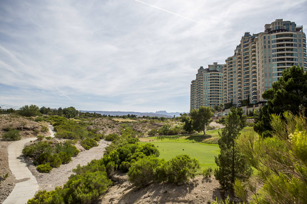 The Badlands golf course in the master-planned community of Queensridge has been in a legal battle for more than two years. (Patrick Connolly RJRealEstate.Vegas)