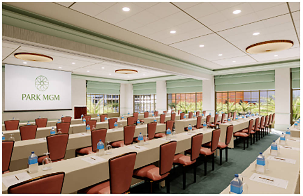 MGM Resorts International and New York-based Sydell Group will debut a new meeting and conference space this fall as part of Monte Carlo's transformation. (Courtesy)