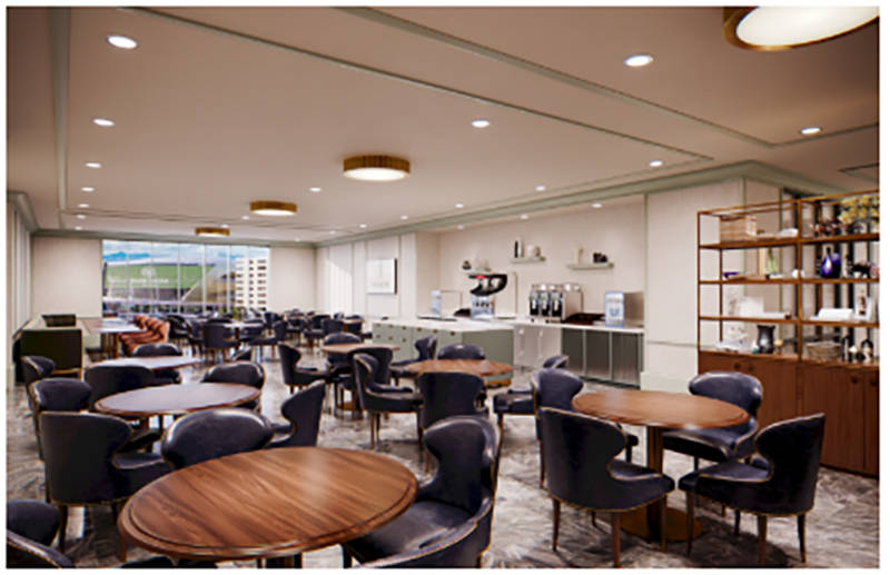 The new meeting and conference space that will be added to the Monte Carlo this fall will feature unique services and accommodations. (Courtesy)
