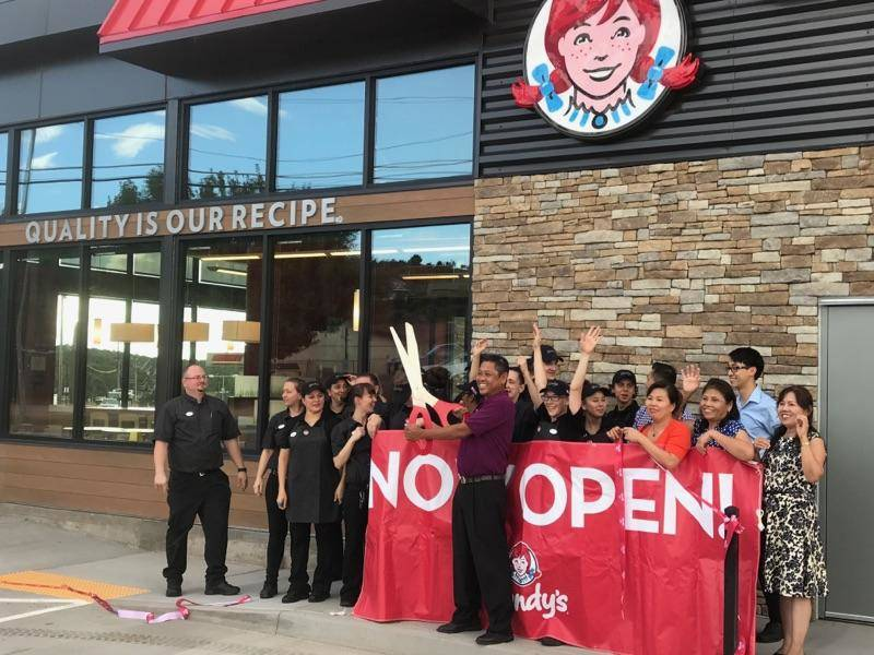 Las Vegas-based DC Building Group has completed construction of an Arizona flagship project — a Wendy's restaurant in Payson, Arizona. (Courtesy)