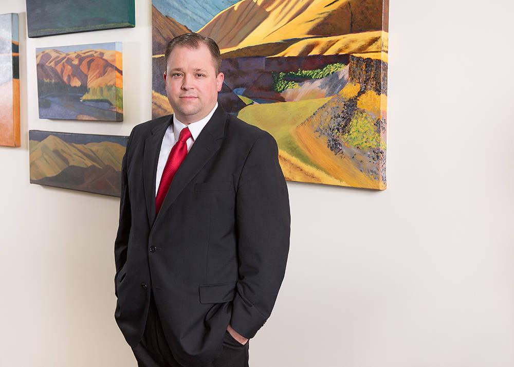 Brenoch Wirthlin, director in Fennemore Craig's Las Vegas office