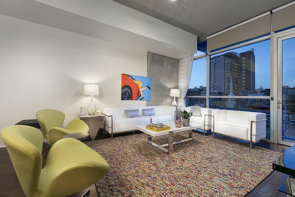 A Juhl high-rise condo in downtown Las Vegas. (Juhl)