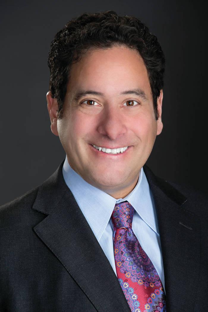 Joseph A. Adashek, MD FACOG, president of the Clark County Medical Society