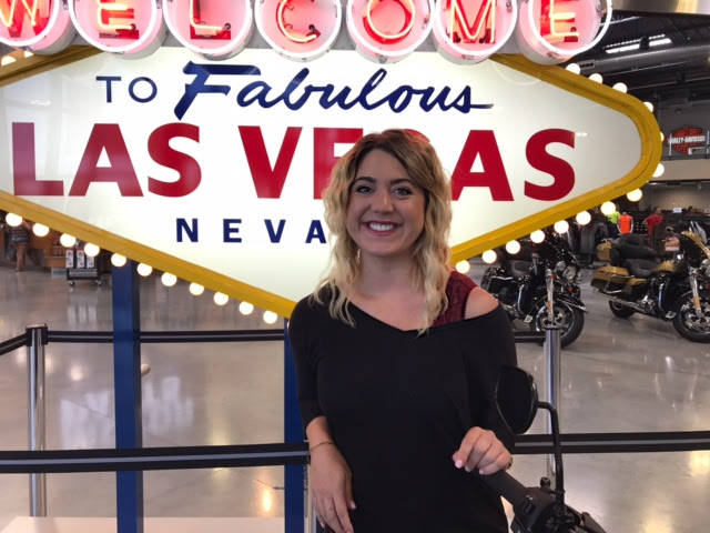 """Las Vegas Harley-Davidson has hired Brianne """"Bri"""" Wills as its marketing manager."""