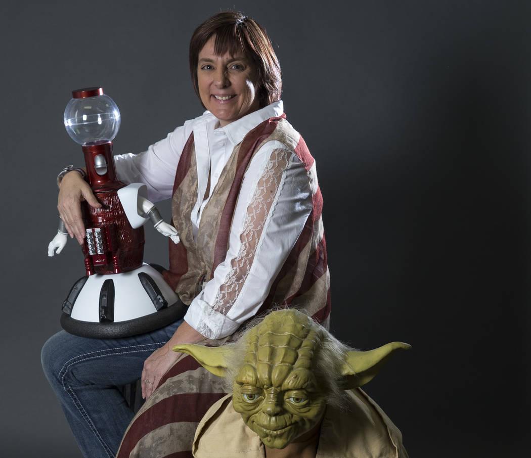 Christina Vitagliano is the founder of Monster Mini Golf. (Richard Brian Las Vegas Business Press @vegasphotograph)
