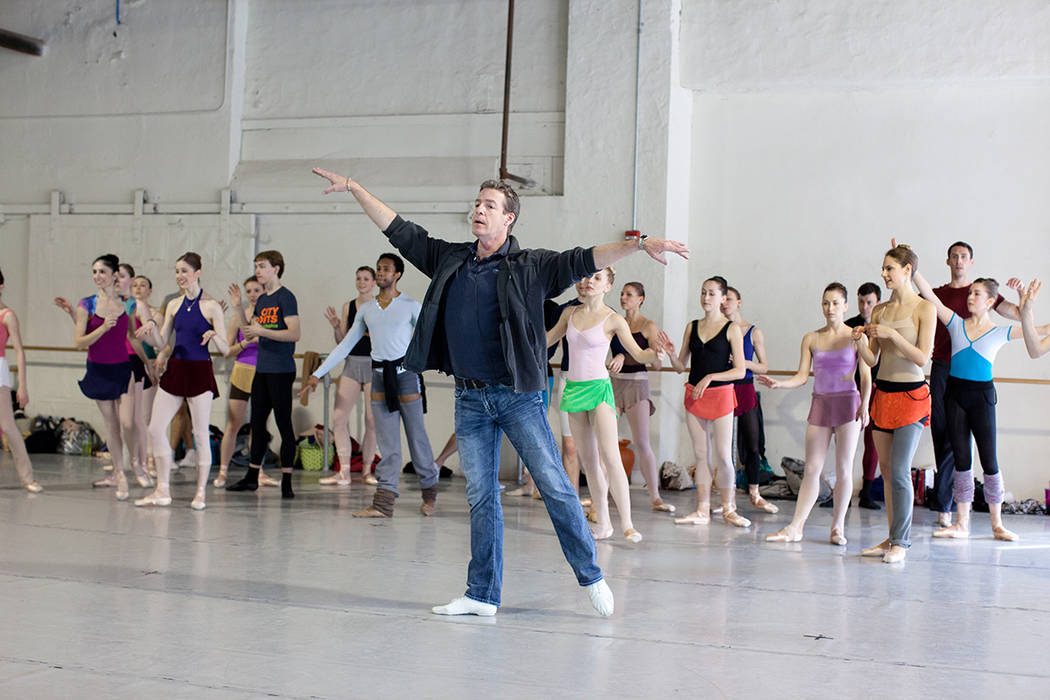 Roy Kaiser, artistic director, Nevada Ballet Theatre