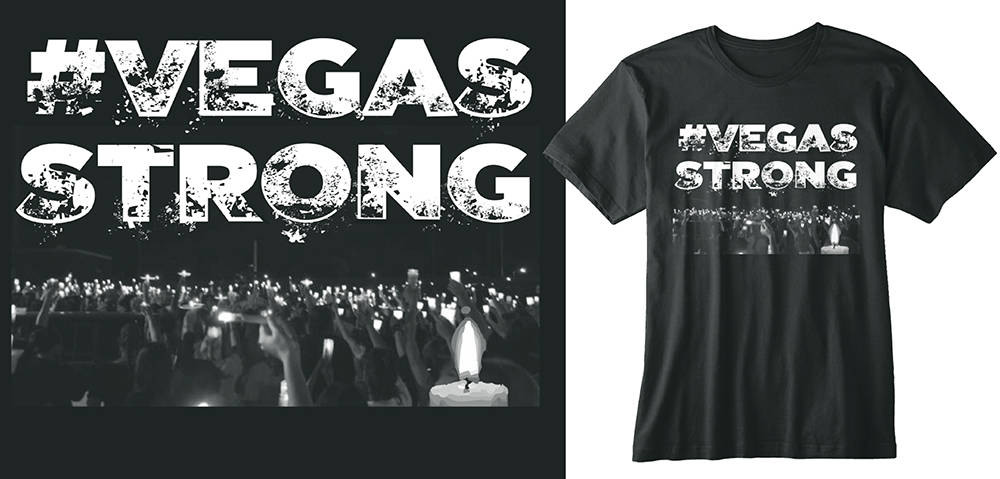 Former Chicago mayoral candidate Businessman William Dock Walls and local entrepreneur Joe Notaro have launched the official #VegasStrong t-shirt with all net proceeds to benefit first responders. ...