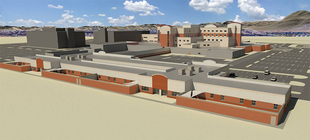 Southern Hills Hospital and Medical Center, is building a 80-bed psychiatric center. It is expected to be completed in a year. (Courtesy of Behavioral Health Center at Southern Hills Hospital)