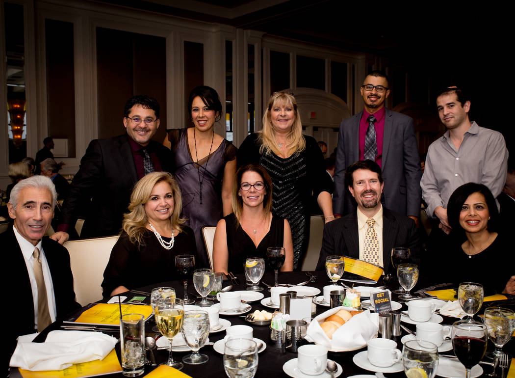 Las Vegas HEALS held an Oct. 19 awards dinner at the Four Seasons honoring medical professionals. (Tonya Harvey)
