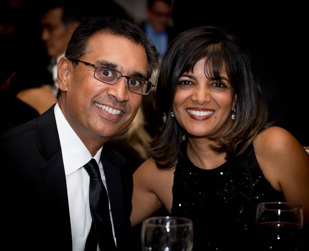 Dt Tapan Shah and  Aanshu Shah (Tonya Harvey)
